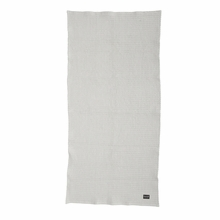 Organic Bath Towel in Light Grey