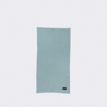 Organic Hand Towel in Dusty Blue