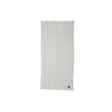 Organic Hand Towel in Light Grey