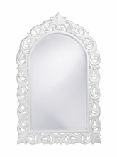 Ornate Rounded Top Mirror