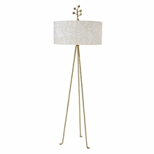 Otomi White Floor Lamp