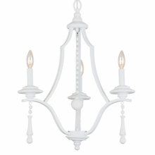 Parson White Contemporary Chandelier