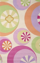Pastel Peppermints Rug