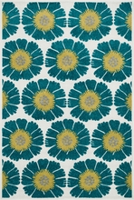 Peacock Floral Catalina Rug
