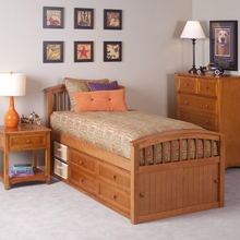 Hickory Ashton Bed