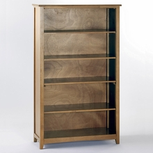 Hickory Tall Bookcase