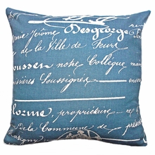 Penmanship Accent Pillow