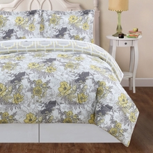 Peony Floral Comforter Set