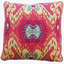 Persia Red Throw Pillow