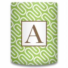 Personalized Can Koozie - Single Initial Square