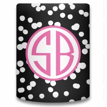Personalized Can Koozie - Two Initials Circle