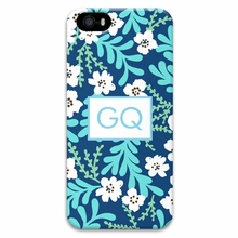 Personalized Cell Phone Case - Two Initials Square