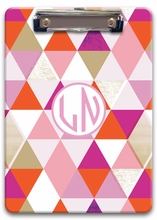 Personalized Clipboard - Two Initials Circle