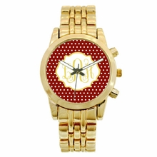 Personalized Gold Plated Boyfriend Watch - Custom