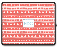 Personalized Laptop Sleeve - Monogram Square