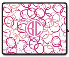 Personalized Laptop Sleeve - Two Initials Circle