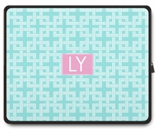 Personalized Laptop Sleeve - Two Initials Square