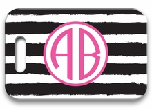 Personalized Luggage Tag - Two Initials Circle