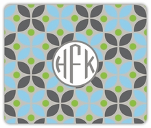Personalized Mouse Pad - Monogram Circle