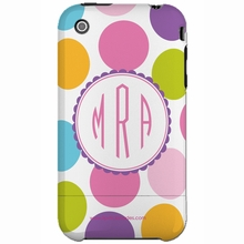 Personalized Multi Dot Snap-on iPhone 4 Case