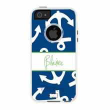 Personalized Otterbox Phone Case in Anchors Away