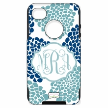 Personalized Otterbox Phone Case in Bloom Duo Smoke Navy
