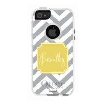 Personalized Otterbox Phone Case in Chevron