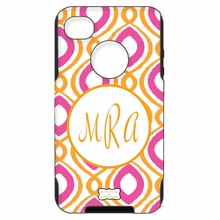 Personalized Otterbox Phone Case in Happy Duo Fuchsia Spice