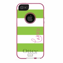 Personalized Otterbox Phone Case in Horizontal Stripe