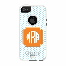 Personalized Otterbox Phone Case in Mini Chevron