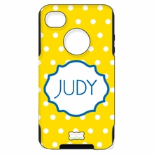 Personalized Otterbox Phone Case in Mini Polka Dots