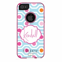 Personalized Otterbox Phone Case in Mod Geo
