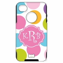 Personalized Otterbox Phone Case in Multi Dot