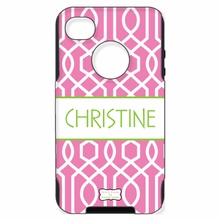 Personalized Otterbox Phone Case in Twisted Trellis