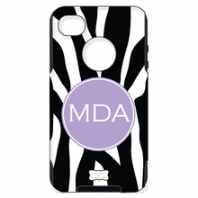 Personalized Otterbox Phone Case in Zebra