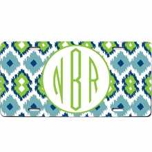 Personalized Patterned License Plate