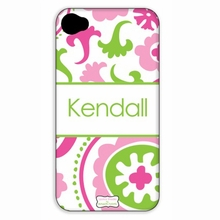 Personalized Patterned Simply Stated iPhone Case