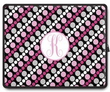 Personalized Laptop Sleeve - Single Initial Circle