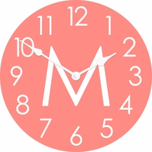 Personalized Solid Wall Clock