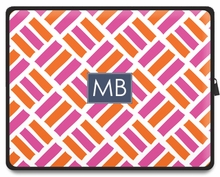 Personalized Tablet Sleeve - Two Initials Square