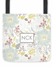 Personalized Tote Bag - Monogram Square