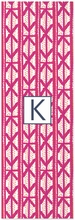 Personalized Yoga Mat - Single Initial Square