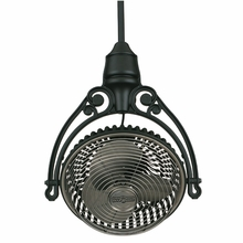 Pewter and Black Old Havana Ceiling Fan