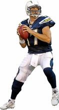 Philip Rivers Fathead Jr. Wall Decal