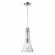 Phillipe Bulb Pendant In Polished Chrome