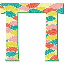 Pi Greek Letter Wall Decal