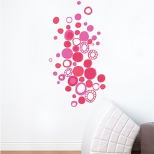 Pink Polka Dots Wall Decal