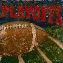 Playoffs Football Canvas Art