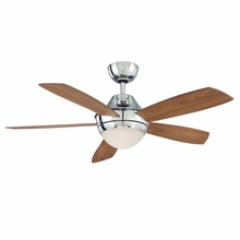 Polished Nickel Celano Ceiling Fan