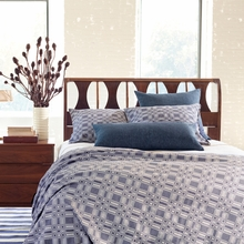 Porto Blue Duvet Cover